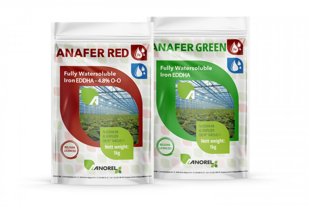 Anafer RED & GREEN: Fe EDDHA 6%